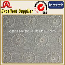 Cotton nylon embroidery net fabric