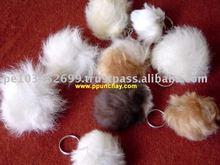 Nice Fur Baby Alpaca Key Chain Peru Handmade