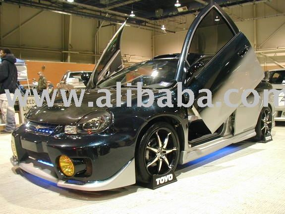 See larger image: DODGE NEON JDM BODY KIT SPOILER HOOD FENDER
