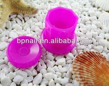 professional nail art dish/mini plastic nail dish for dedicure