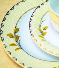 dinnerware n round plate n square plate n teapot etc