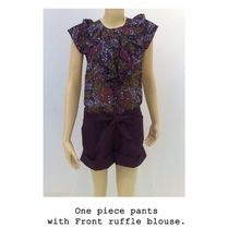 One piece pants.