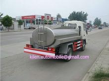 FOTON 4X2 milk transport vehicle /milk tanker transport truck