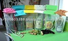 Wine bottle non-woven gift bag & gift wrap(Korean paper)