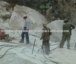 Pure white marble grade B