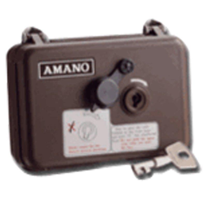 Amano PR-600 Watchman Clock 0.8kgs no inked ribbon used