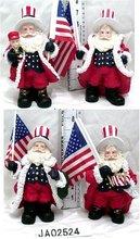 Polyresin/Resinic/Santa Claus/ Father Christmas/Kriss Kringle&Reindeer Crafts/Handicrafts
