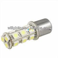 Car Backup Reverse Strobe LED White Brake Light Bulb BA15S 1156 18 SMD