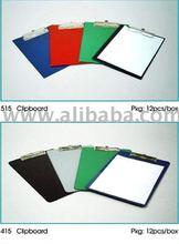 A5 /F4 PVC Clipboard w/ pocket on the back
