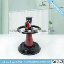 EA0001TH red and black polyresin toothbrush holder bathroom set Walmart supplier