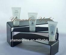 transparent hotel body wash