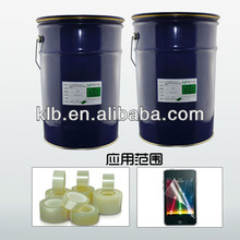 optical transparent silicon adhesive for films liquid silicone rubber cement