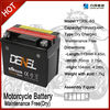 YTX5L-BS 12v 4ah motorcycle battery for bajaj motorcycle spare parts