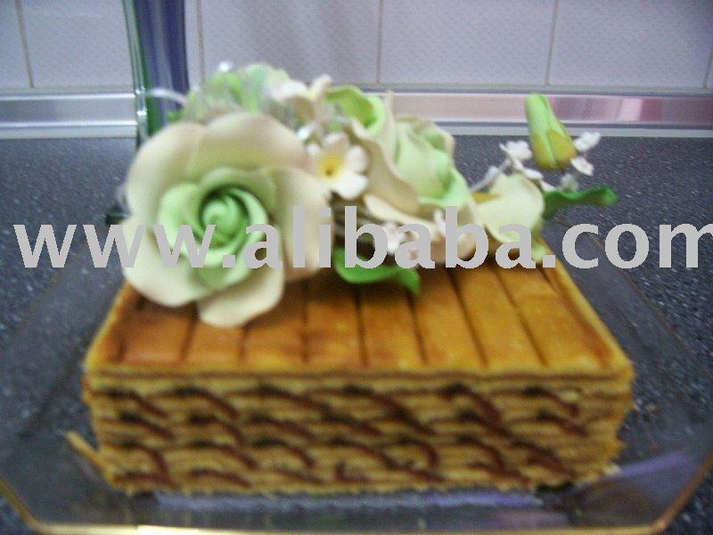 KEK LAPIS SARAWAK - SISIK IKAN cake