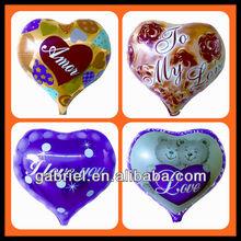Heart shape Helium Foil Balloon, Mylar Balloon