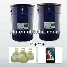 optical transparent silicon adhesive for films liquid silicone window sealant