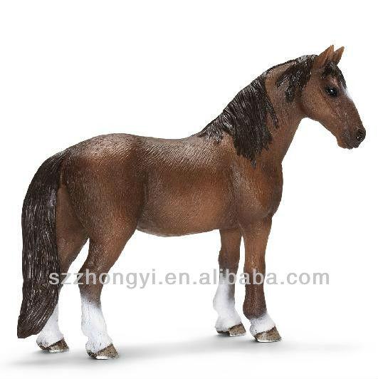 ม้าพลาสติกtiannasivokม้ารูปปั้นม้าแบบของเล่นสำหรับเด็ก