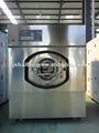 30kg aquecimento de vapor heavy duty máquina de lavar roupa, extrator de lavar