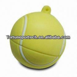 Bulk cheap 2gb tennis ball usb flash drive