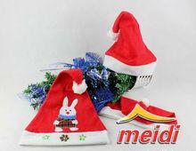 Hot sale!! felt Kids christmas hats christmas santa hats for children
