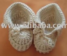 baby organic crochet shoes