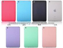 Blue Grid Soft TPU Case Cover for iPad mini