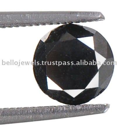 Natural negro Diamond Solitaire
