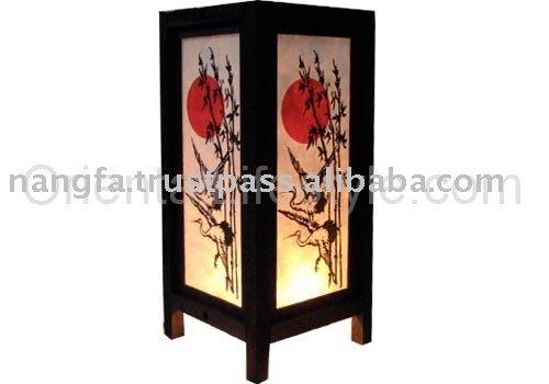 vetrocemento moderno apribile : Lampade Giapponesi On Line : Lampada shojijapanese sunset ...