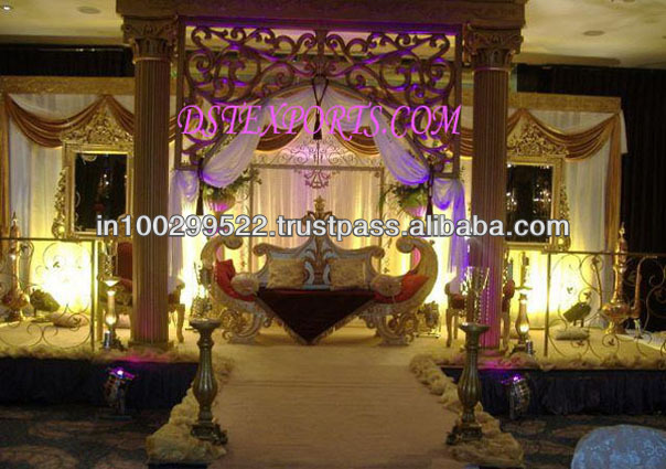 See larger image INDIAN MAHARAJA WEDDING STAGE