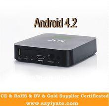 android tv box with sim card M3 XBMC preinstall 1GB+4GB Cortex-A9