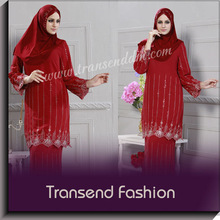 Hot selling 2013 design baju kurung