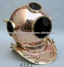 Nautical Diving Helmet / Brass Diving Helmet / Diver Helmet