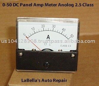 10 / 20 / 30 / 40 / 50 DC ampèremètre ampèremètre