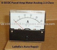 10/20/30/40/50 DC Amp meter AMMETER