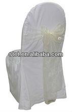 Fashional Cheap Wedding Organza Chair Sashes