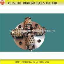 Diamond Bush Hammer Plates Rotary Bush Hammer Grinding Plates