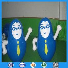 inflatable pvc tumbler as Xmas present /inflatable halloween mask