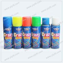 party streamer foam spray