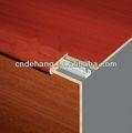 decorativo mdf laminado suelo nariz de escalera con el mejor precio