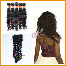 most popular unprocessed real human hair for sale china