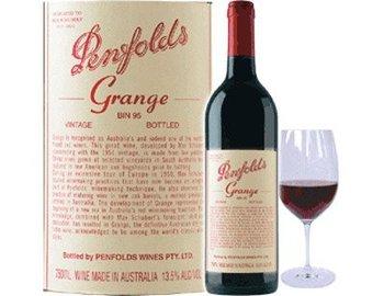PENFOLDS GRANGE wine