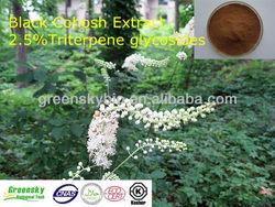 2.5% Triterpene glycosides Black Cohosh Extract