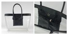 0.8mm clear PVC tote bag,vinyl clear pvc tote bags,rectangular tote bag