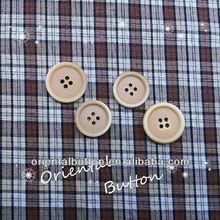 HK series leisure style gradient color 4-hole button