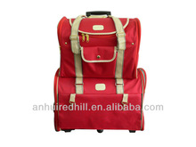 Travelling&Trolley red pet carrier