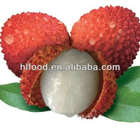 fresh litchi in tin in light syrup from China