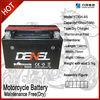 YTX9A-BS Lead Acid motocicleta bateria 12V8ah bateria for battery powered atv