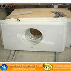 Custom Design white sparkle quartz stone countertop
