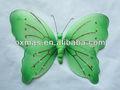 decorativos de la mariposa de tela y decoración para bodas
