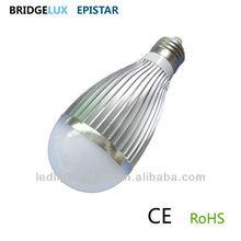 Dimmable e27 7w led bulb high power 127V 220V